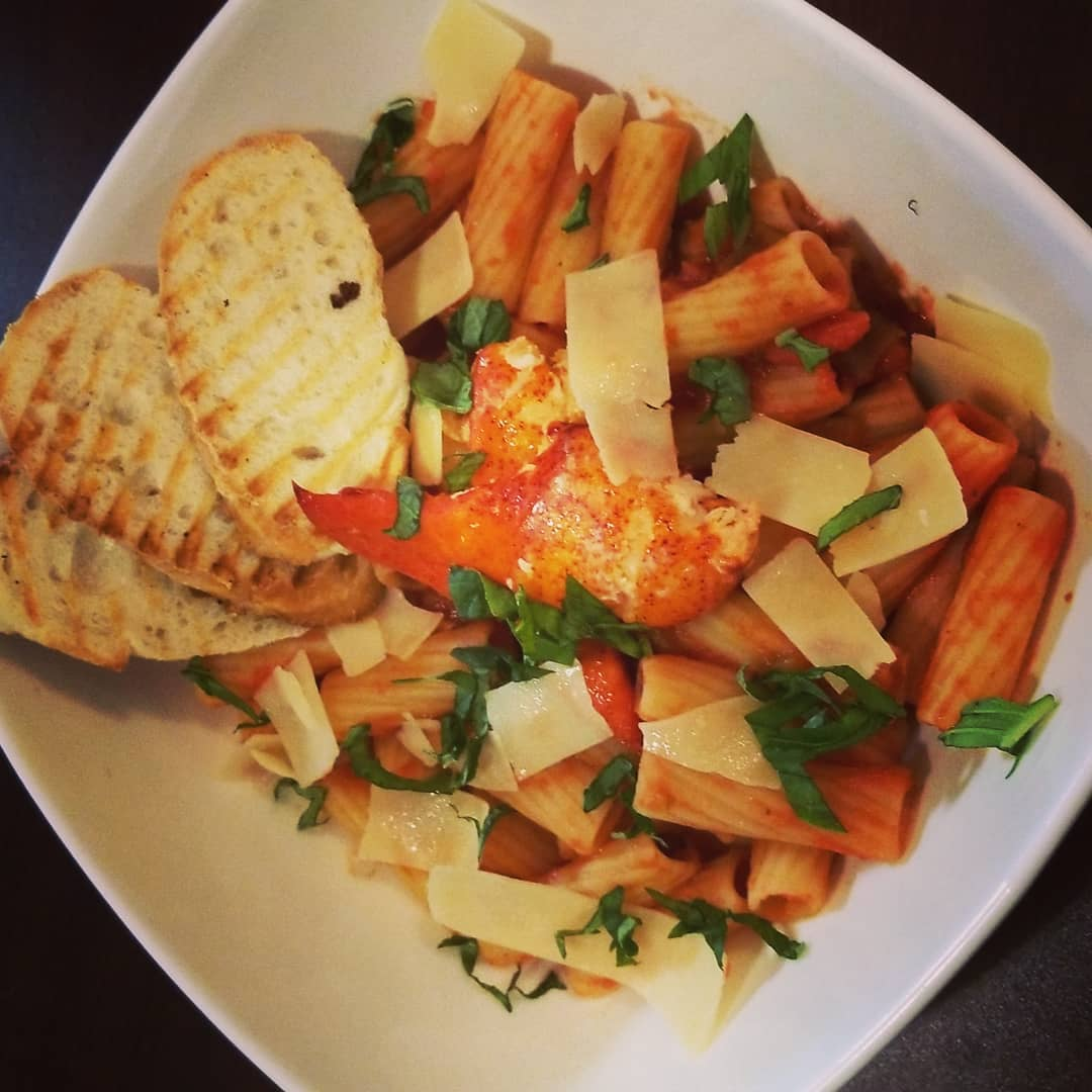 waters edge winery and bistro pasta