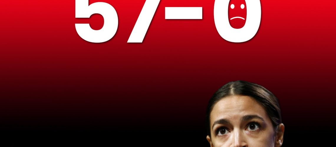 americhicks march 26 ocasio-cortez defeat of new green deal 57 to 0 (1)