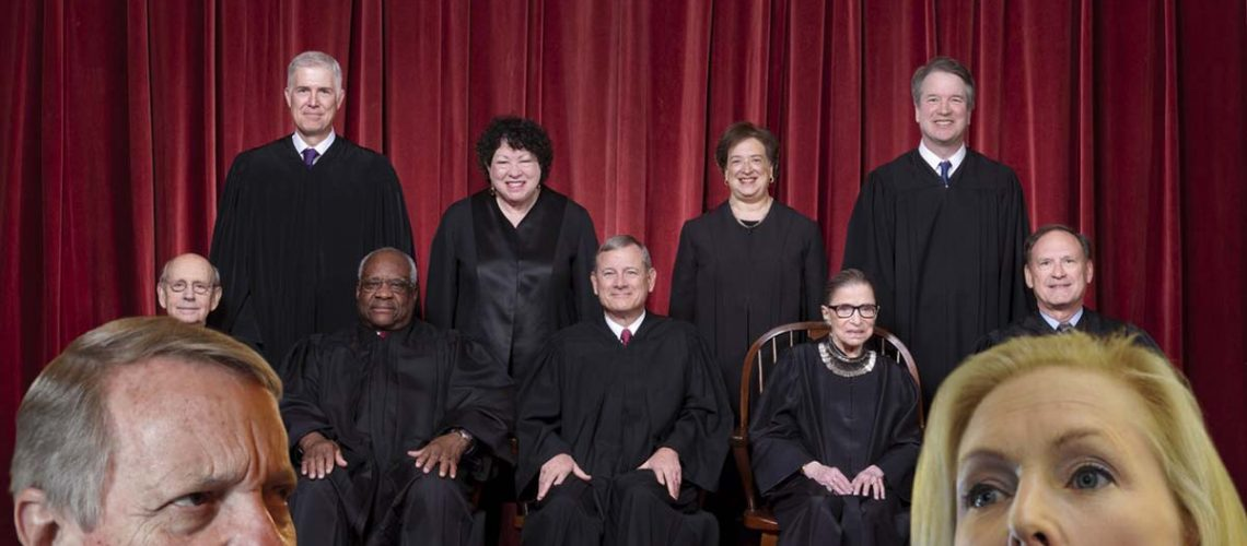 bullying the supreme court