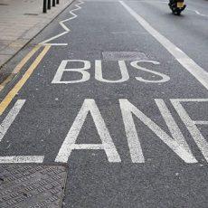 bus lane only