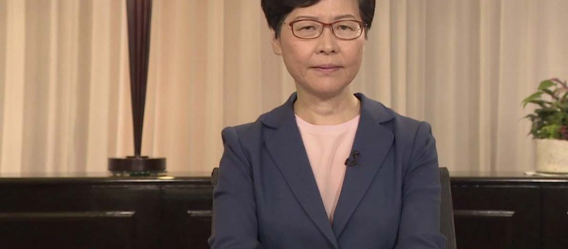 can carrie lam be trusted kim monson helen raleigh