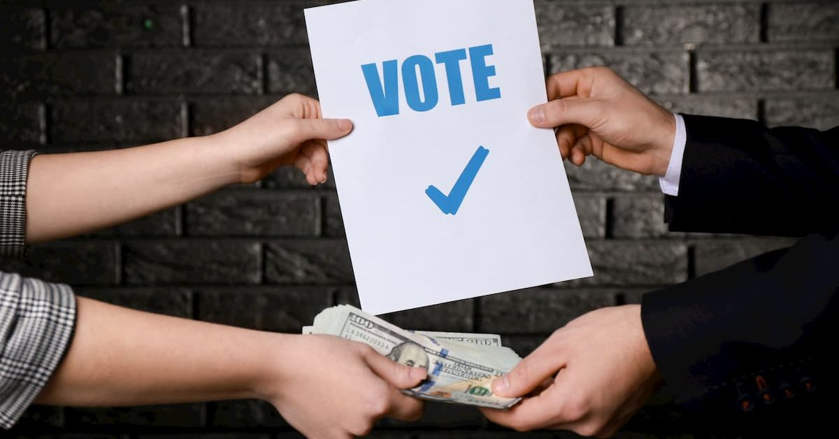 democrats buying votes to receive presidential nomination in 2020 election