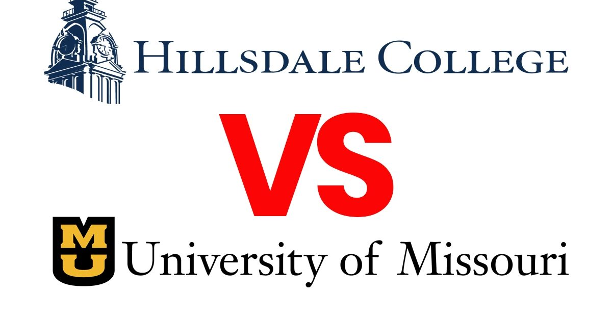 hillsdale college sues university of missouri
