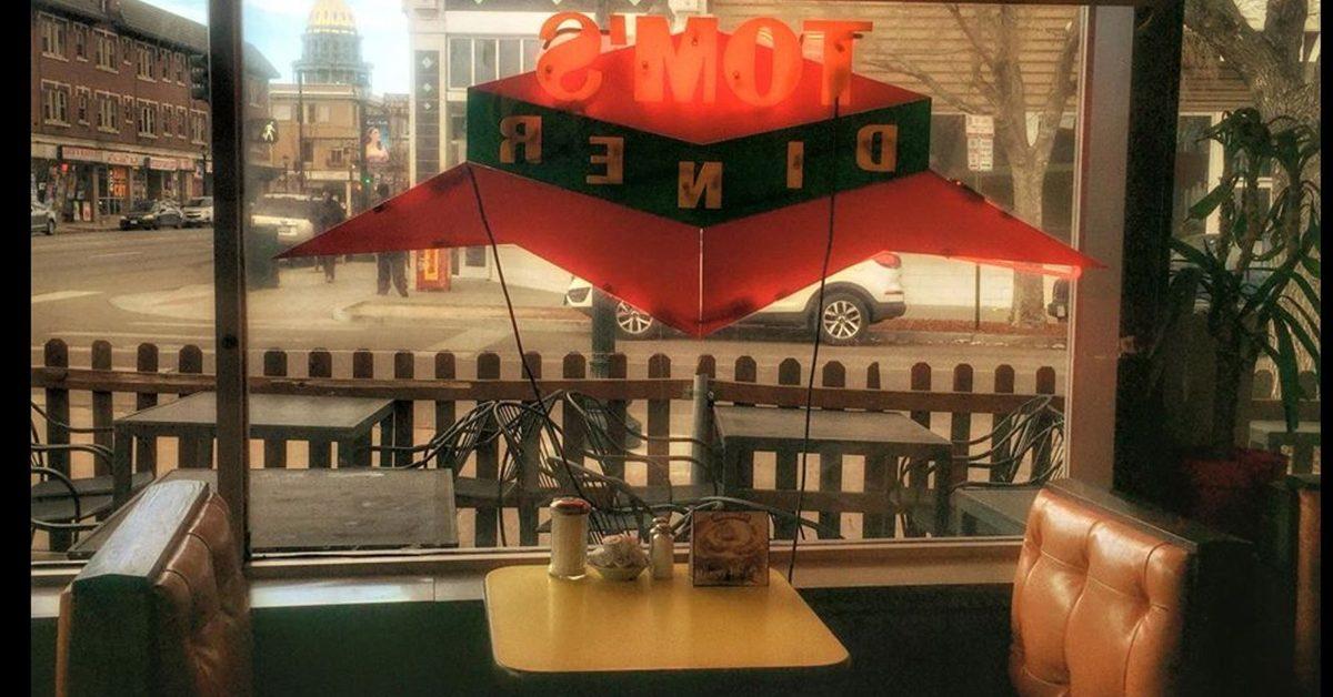 tom's diner property rights kim monson riger bianco